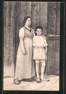 AK Charleville-Mézières, Théatre du Jorat, Schauspielerin Mlle Martin u. Schauspieler A. George als Gertrude u. Walther