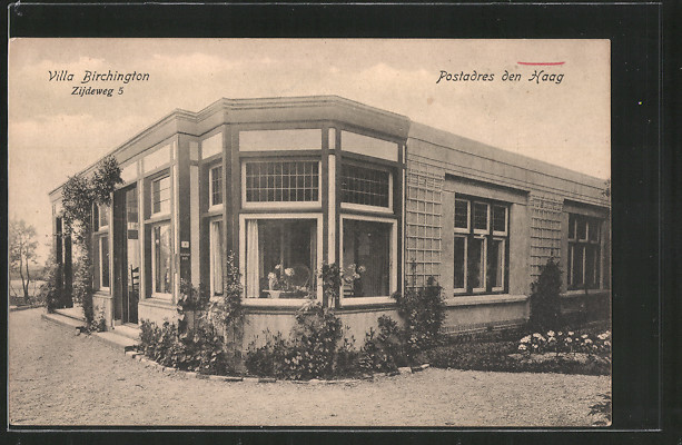 AK Den Haag, Villa Birchington, Zijdeweg 5
