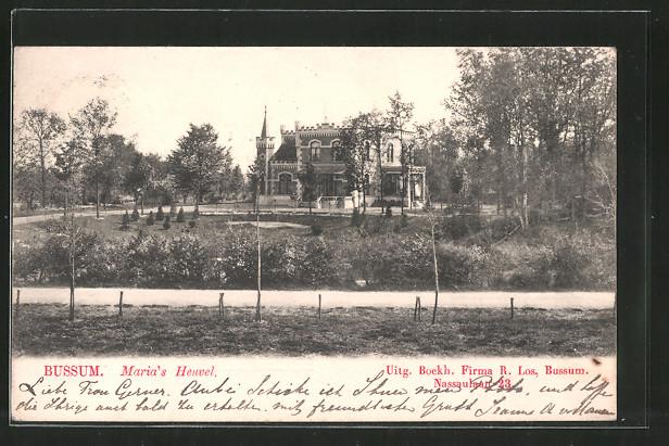 AK Bussum, Maria's Heuvel