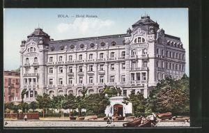 AK Pola, Partie am Hotel Riviera