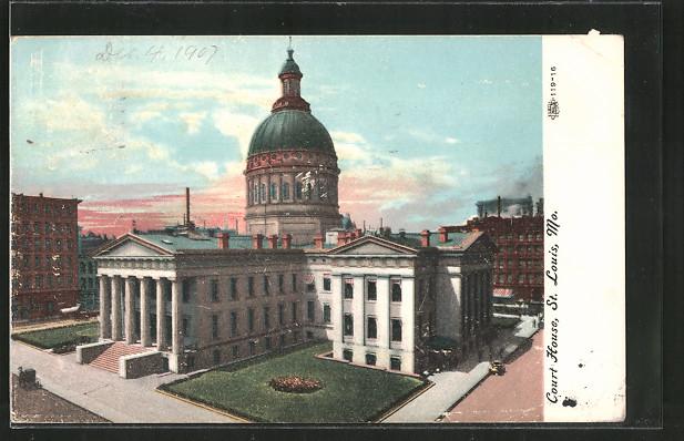 AK St. Louis, MO, Court House