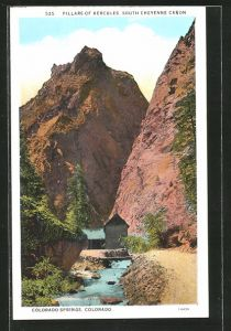 AK Colorado Springs, CO, Pillars of Hercules, South Cheyenne Canon