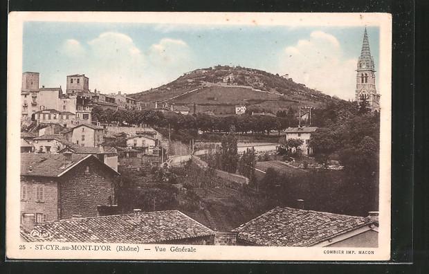 ak cyr au mont d or vue g 233 n 233 rale nr 6502073 oldthing ansichtskarten europa belgien