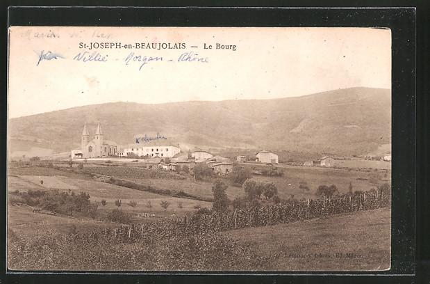 AK Saint-Joseph-en-Beaujolais, le bourg