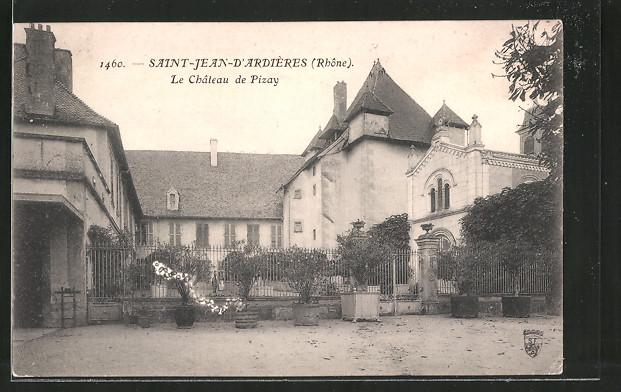Ak saint jean d 39 ardi res le ch teau de pizay nr 6502284 oldthing an - Chateau de pizay saint jean d ardieres ...