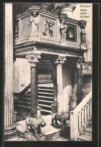 AK Benevento, Ambone sinistro nel Duomo