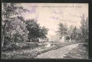 AK Dordrecht, Bleekersdijkje, Beeldjesbrug