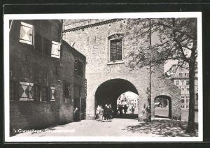 AK 's-Gravenhage, Gevangenpoort, altes Gefängnistor, Old prison gate