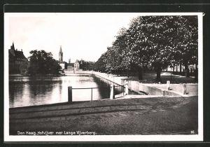 AK Den Haag, Hofvijver met Lange Vijverberg