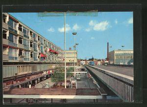 AK Vlaardingen, Winkelcentrum Liesveld mit Geschäften