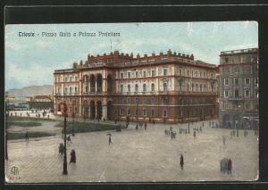 AK Trieste, Piazza Unitá e Palazzo Prefettura