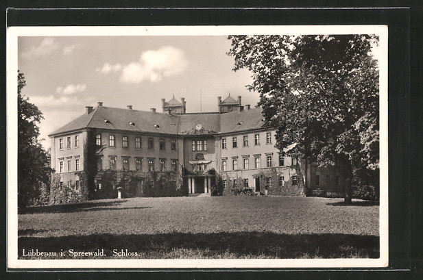 AK Lübbenau, Sicht auf das Schloss