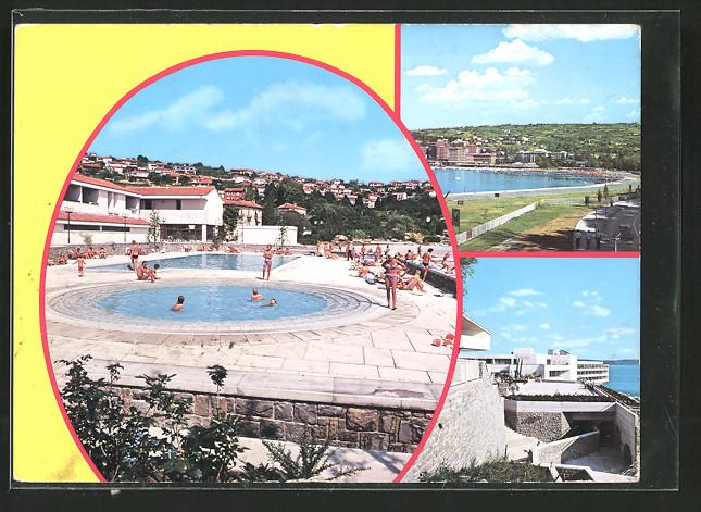 AK Portorose / Portoroz, Turisticno hotelsko naselje Bernardin, Hotelanlage St. Bernardin