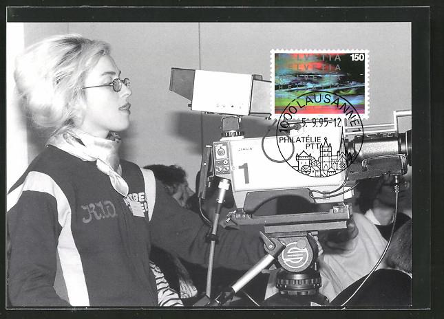 Maximum-AK 100 Jahre Kino, Pipilottis Fehler, Kamerafrau bei der Arbeit