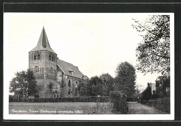 AK Garderen, Toren (Gebouwd omstreeks 1050)