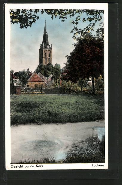 AK Lochem, Gezicht op de Kerk 0
