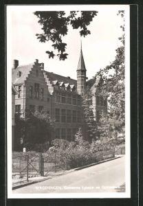 AK Wageningen, Gemeente Lyceum en Gymnasium