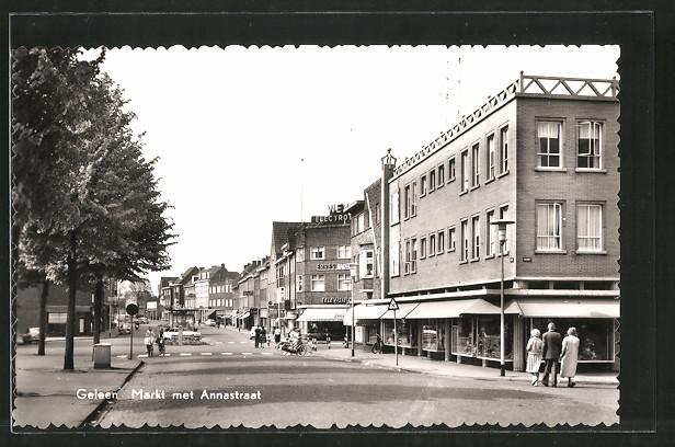 AK Geleen, Markt met Annastraat
