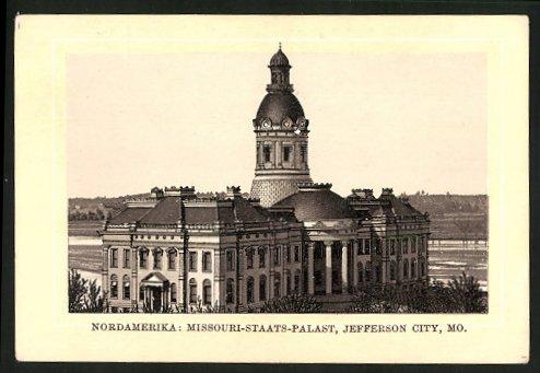 Sammelbild Jefferson City, Missouri Staats-Palast, Schicht's Patent-Seife, Georg Schicht Aussig a. E.