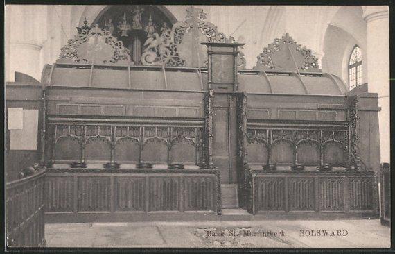 AK Bolsward, Bank St. Martinikerk