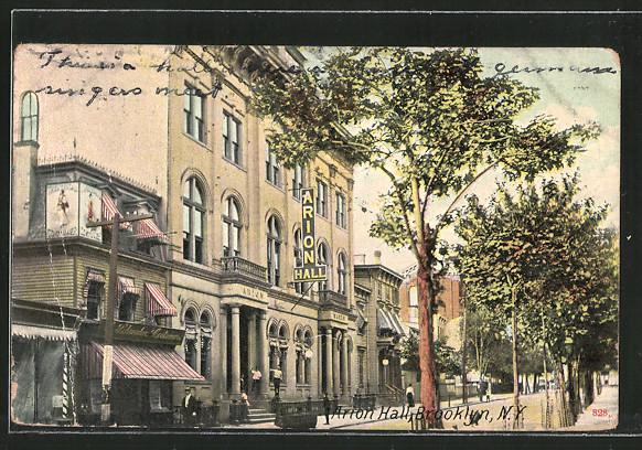 AK New York-Brooklyn, NY, Arion Hall