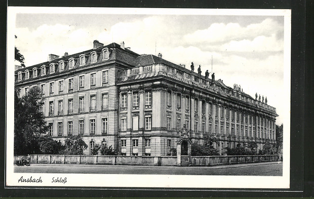 AK Ansbach, Sicht auf das Schloss