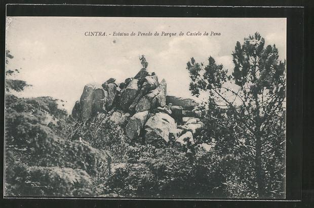 AK Cintra, Estatua do Penedo do Parque do Castelo da Pena