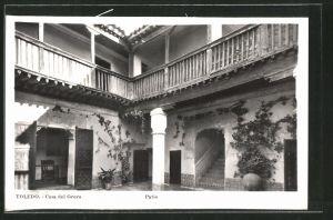 AK Toledo, Casa del Greco, Patio