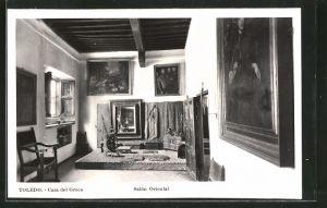 AK Toledo, Casa del Greco, Salón Oriental