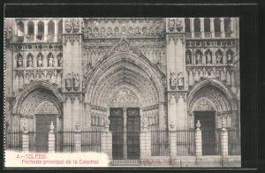 AK Toledo, Fachada principal de la Catedral