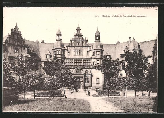 AK Metz, palais du Général-Gouverneur