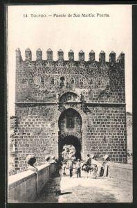 AK Toledo, Puente de San Martín: Puerta
