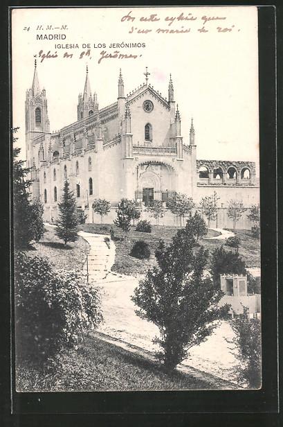 AK Madrid, Iglesia de los Jerónimos