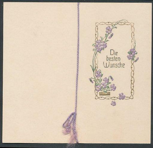 Gluckwunschkarte Zum Geburtstag Blumenverzierung Vers Nr 6533259