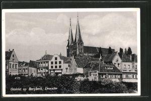 AK Deventer, Gezicht op Bergkerk