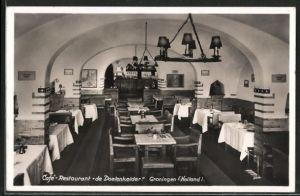 AK Groningen, Innenansicht vom Café-Restaurant