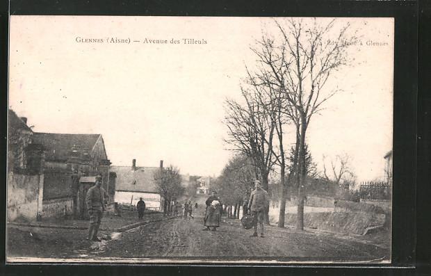 AK Glennes, Avenue des Tilleuls