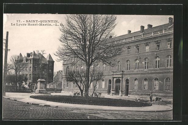AK Saint-Quentin, Le Lycée Henri-Martin