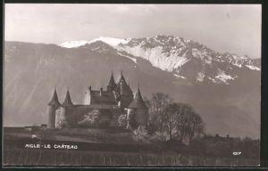 AK Aigle, Le Chateau, Schlossblick