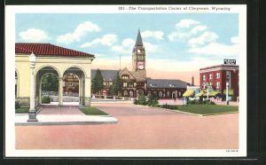AK Cheyenne, WY, The Transportation Center