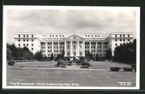 AK White Sulphur Springs, WV, The Greenbrier Hotel