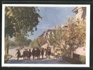 AK Aschgabat-Aschchabad, Stalin-Prospekt