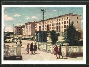 AK Balchasch, Gebäude der Metallurgie in der Lenin-Strasse