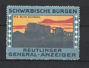 Reklamemarke reutlinger general anzeiger schw bische for Reutlinger general anzeiger immobilien