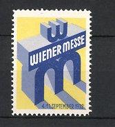 Reklamemarke Wien, Wiener Messe 1932, Messelogo