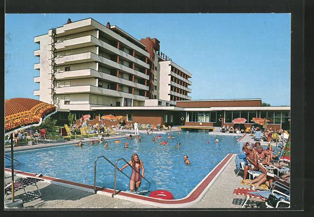 Montegrotto terme hotel terme bagno romano kat nr ks23012 oldthing italien unsortiert - Piscine termali montegrotto ...