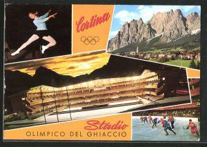 AK Cortina, Olimpico del Ghiaccio, Eisläuferin, Hockeyspieler