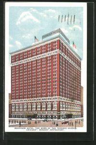 AK Chicago, IL, Morrison Hotel, Restaurant Terrace Garden