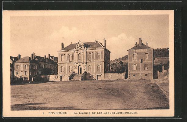 AK Envermeu, la mairie et les ecoles communales