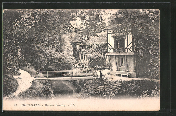 AK Houlgate-sur-Mer, moulin Landry